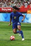 Torneo olímpico del fútbol 2008 Fotografía de archivo libre de regalías