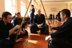 Torneo su Kendo Fotografia Stock Libera da Diritti