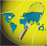 Torneos del tenis stock de ilustración