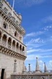 Tornet av Belém, Lissabon - Torre de Belém Fotografering för Bildbyråer