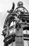Tornet av sångaren House i St Petersburg Royaltyfria Foton