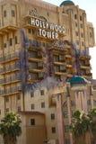 Tornet för skymningzon av hotellet för skräckHollywood torn royaltyfri bild