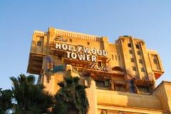 Tornet för skymningzon av skräcken royaltyfri foto