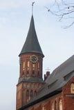 Tornet med ett fåfängt för väder arkivbild