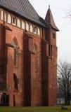Tornet med ett fåfängt för väder arkivfoton
