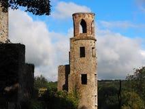 Tornet på smickrar slotten Irland Royaltyfria Bilder