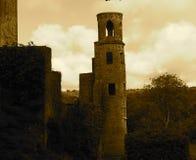 Tornet på smickrar slotten Irland Arkivfoton