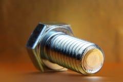 Tornillo de metal Foto de archivo
