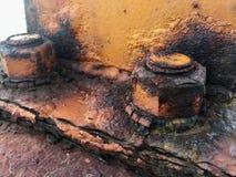 Tornillo oxidado Imagen de archivo libre de regalías