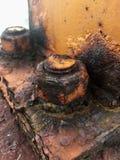 Tornillo oxidado Imágenes de archivo libres de regalías