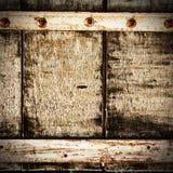 Tornillos de madera abstractos Imagen de archivo libre de regalías