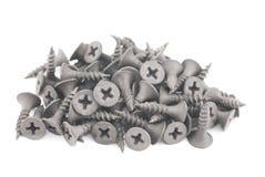 Tornillos negros Fotografía de archivo libre de regalías