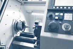 Tornio di CNC Fotografia Stock
