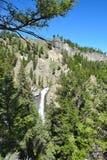 Tornnedgång Yellowstone Royaltyfri Bild