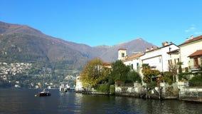 Torno, Como Lake, Italy Stock Photography