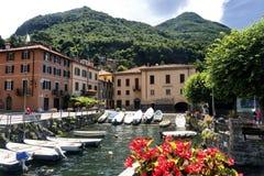 Torno (Como), village along the Lario. Torno (Como, Lombardy, Italy), old typical village along the Lario lake stock photography