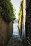 Torno Como, village along the Lario Royalty Free Stock Image