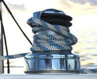 Torno del barco de vela Fotografía de archivo