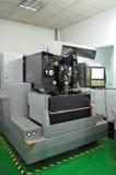 Torno do CNC imagens de stock