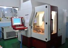 Torno do CNC Fotografia de Stock