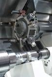Torno, el moler del CNC Fotografía de archivo libre de regalías