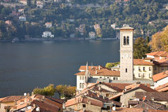 Torno, Lake Como Stock Photo