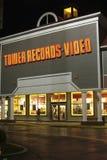 Tornrekord och videopn lager i Annapolis, Maryland arkivbild