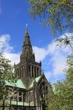 Tornspira av Glasgow Cathedral Fotografering för Bildbyråer