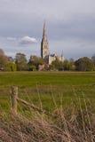 Tornspira av Wiltshire Arkivfoto