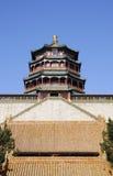 Tornstruktur av forntida byggnad Royaltyfri Fotografi