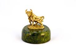 Toro de bronce Imagen de archivo