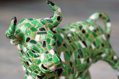 Toro del mosaico Fotografie Stock Libere da Diritti