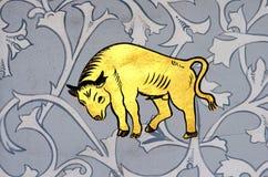 Toro il segno dello zodiaco del toro Immagini Stock
