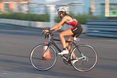 Toro Loco Valencia Triathlon Royalty Free Stock Image