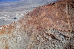 Toro muerto - Peru. Peru, Toro Muerto Petroglyphs, more than 5000 such petroglyphs of desert Though the cultural orgins of this site remain unknown, most royalty free stock image