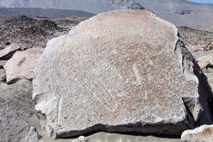 Toro muerto - Peru. Peru, Toro Muerto Petroglyphs, more than 5000 such petroglyphs of desert Though the cultural orgins of this site remain unknown, most royalty free stock photos