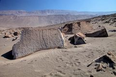 Toro muerto - Peru. Peru, Toro Muerto Petroglyphs, more than 5000 such petroglyphs of desert Though the cultural orgins of this site remain unknown, most stock photography