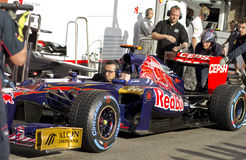 Toro Rosso F1 Stock Photo