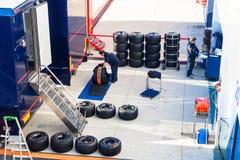 Toro Rosso Team, 2012 Stock Image