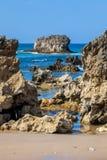 Toro-Strand, Llanes, Asturien, Spanien lizenzfreies stockfoto