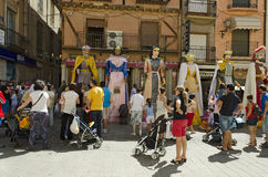 TORO (ZAMORA), SPAIN – AUGUST 25, 2012: Stock Image