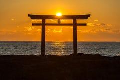 Toroii茨城日本 免版税库存照片