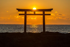 Toroii Ibaraki Japon photos libres de droits