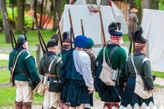 The battle of Black Creek Royalty Free Stock Photos