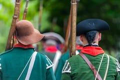 The battle of Black Creek Royalty Free Stock Photo