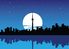 Toronto. Vector illustration of toronto ontario Royalty Free Stock Images