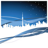 Toronto. Vector illustration of toronto, ontario Royalty Free Stock Images
