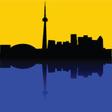 Toronto vector illustration