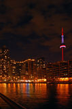 Toronto. Water front in the night Stock Photo