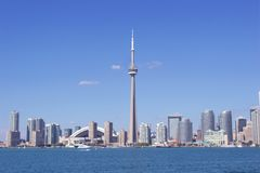 Toronto. Citiscape from lake Ontario Royalty Free Stock Photo
